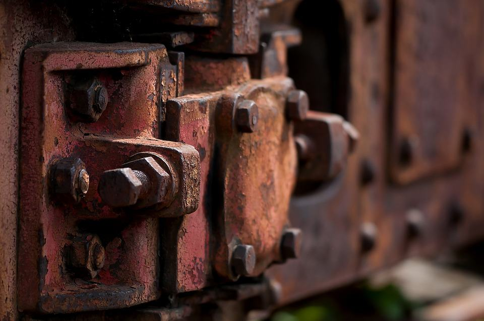 Rusted steel